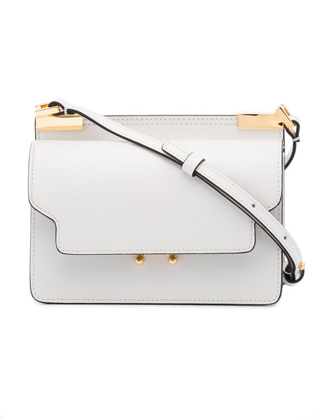 MARNI mini women bag shoulder bag leather white