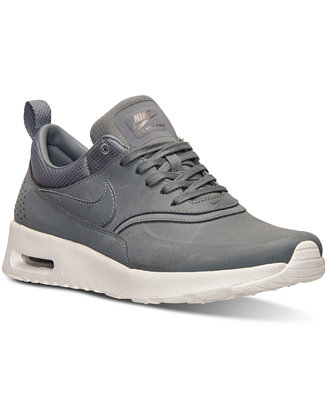 Nike Women's Air Max Thea Premium Running Sneakers from Finish Line - Finish Line Athletic Shoes - Shoes - Macy's