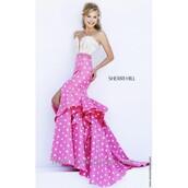 dress,party dress,sherri hill