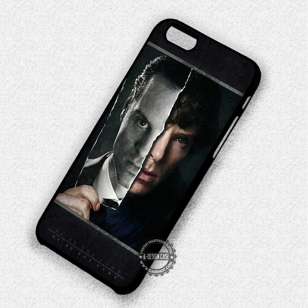 The Same Moriarty Sherlock Holmes - iPhone 7 6 5 SE Cases & Covers