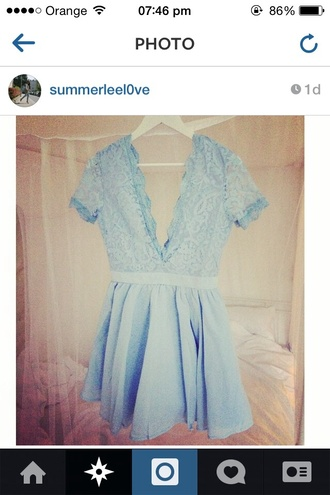 bkue summer dress posh baby blue tiffany blue fall outfits stylish styke style backless dress backless dress with dress