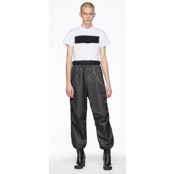 pants cargo pants grey