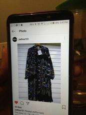 blouse,printed chiffon tunic