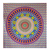 Hippie Yellow Flower Print Wall Hanging Tapestry - HandiCrunch.com
