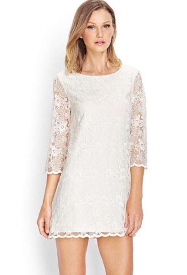 dress white dress prom dress short dress nice dress lace dress