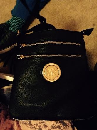 bag michael kors crossbody bag black zip