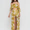 Quite frond of you two-piece maxi red yellow - gojane.com