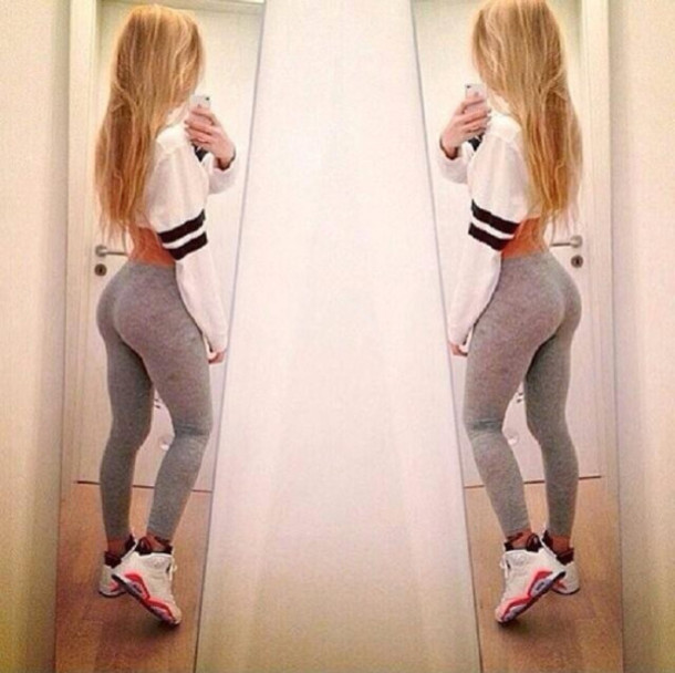a99e6a2af23ca shirt jacket black stripes dope love more leggings grey leggings sportswear  butt feamale top tight leggings
