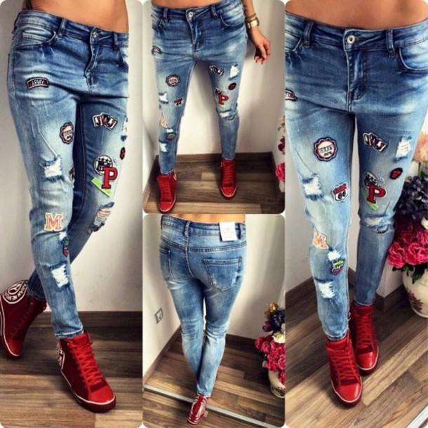 6c77c972262 jeans denim denim overalls ripped jeans high waisted jeans skinny jeans  blue jeans boyfriend jeans flare