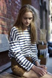 mariniere,blue t-shirt,t-shirt