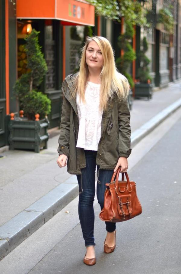 paris grenoble coat blouse