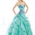 victoriapromdresses.com offer cheap 2013 A line Appealing Exquisite Absorbing Sweetheart Neckline Applique Ruffle Tiered Blue Organza Floor Length Prom Dress HOT SALE!  Online