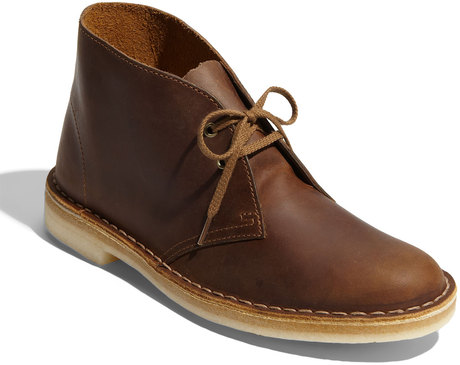 Clarks Desert Boot  in Brown (beeswax leather) | Lyst