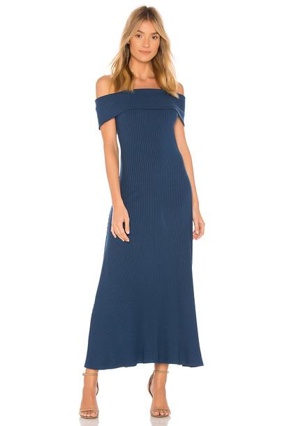 Mara Hoffman dress blue
