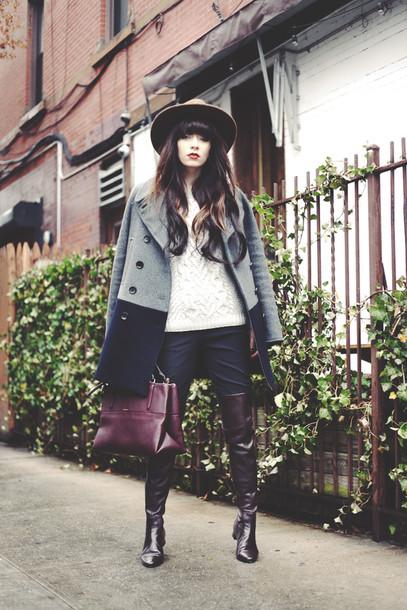 jag lever coat sweater shoes pants bag pea coat