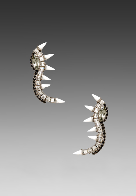 LIONETTE BY NOA SADE Orian Earrings in White at Revolve Clothing - Free Shipping!