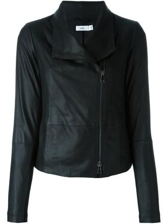jacket biker jacket minimalist
