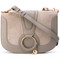 See by chloé - 'hana' bag - women - goat skin/suede - one size, grey, goat skin/suede