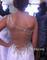 Shoulder chiffon long prom dresses, formal dresses