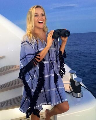 dress tunic tunic dress cover up summer reese witherspoon kaftan