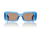 Blue dries van noten regtangular sunglasses | moda operandi