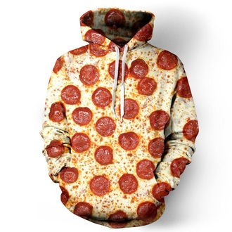 sweater pizza hungry food junkfood nomm clothe clothes style