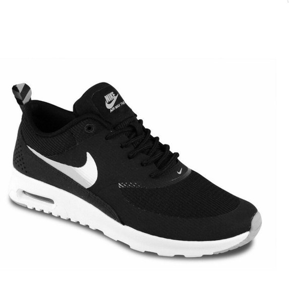 shoes nike airmax thea nike running shoes nike shoes nike air black and white
