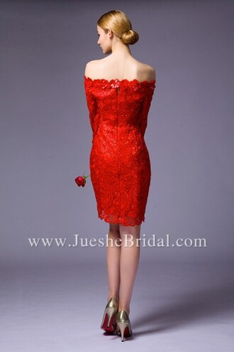 dress red dress homecoming dress short dress