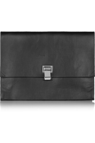 leather clutch bag clutch leather black