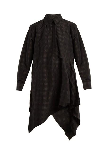 MARQUES ALMEIDA shirtdress black dress