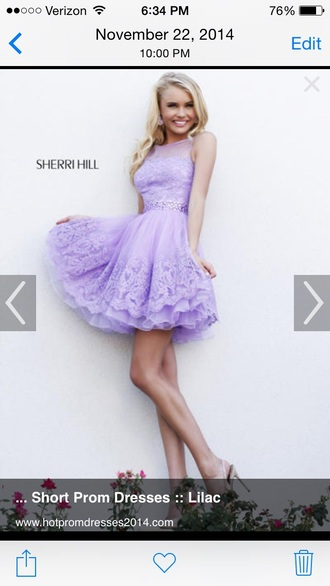 dress sherri hill formal dress purple dress