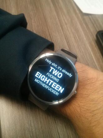 jewels watch digital watch vulgar