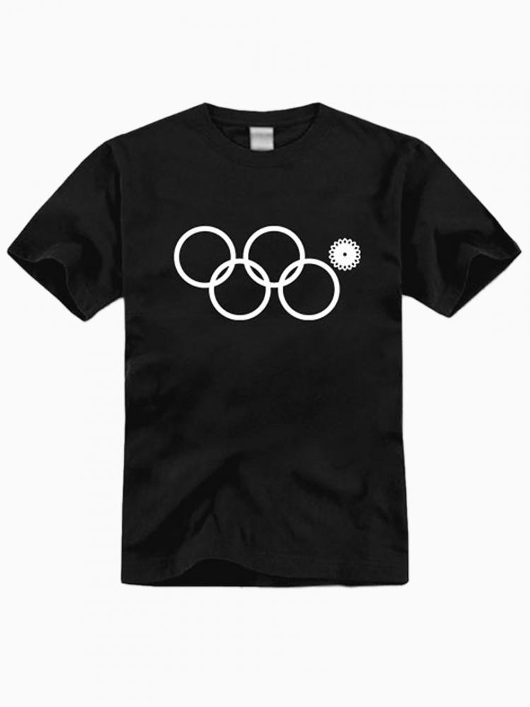Sochi Problems Rings T-shirt In Black | Choies