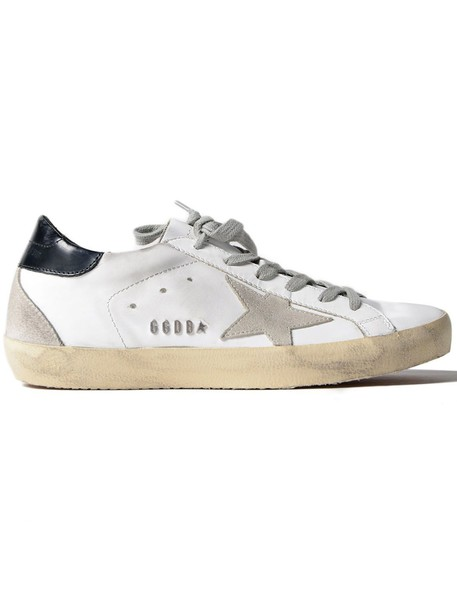Golden goose sneakers. metal sneakers white black cream shoes