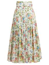 skirt,midi skirt,high,midi,floral,print