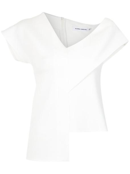 Gloria Coelho blouse women spandex top