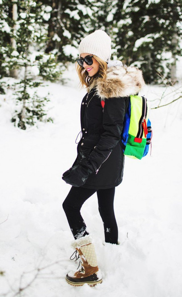 9 Outfit Ideas For A Snow Day - Wheretoget