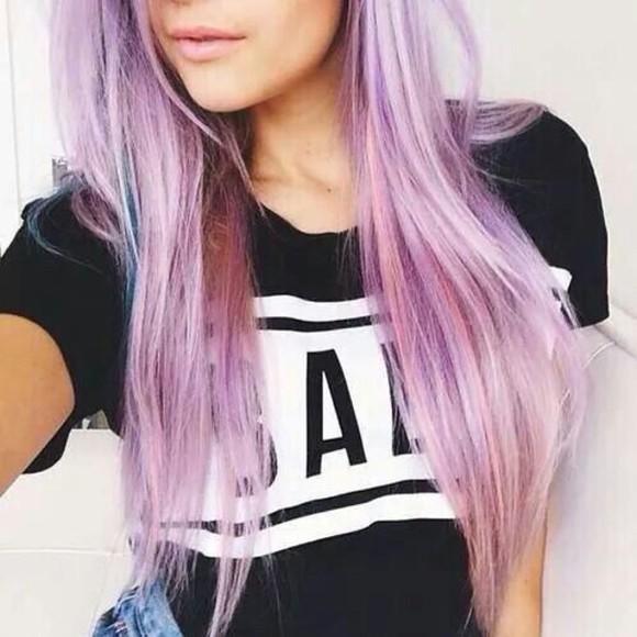 t-shirt black black t-shirt white grunge t-shirt hipster purple