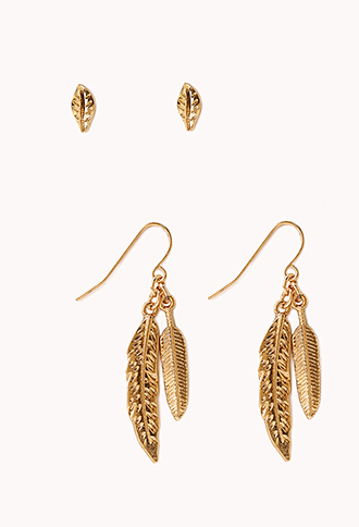 Down-To-Earth Earring Set | FOREVER21 - 1000089393