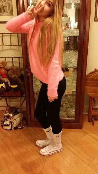 shoes high top converse basic nike blonde hair blonde hair