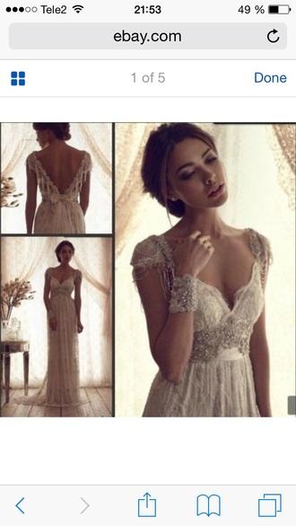 dress wedding bridal wedding dress bridesdress boho vintage lace lacedress white white dress white lace old school weddinglace