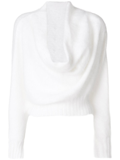 sweater women white