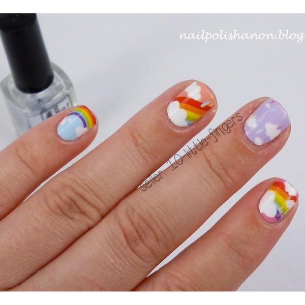 nail accessories nails nail stickers nail polish manicure pedicure cute nail art decals full wraps rainbow