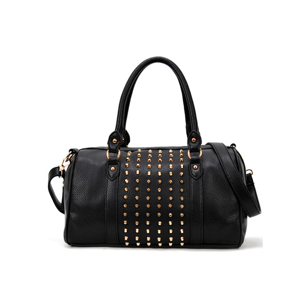 Rivets Black Stud Bag