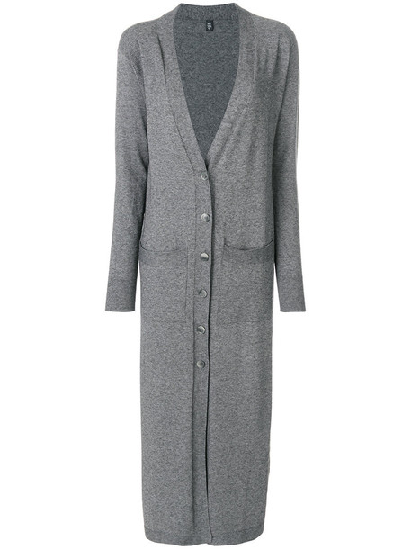 Eleventy cardigan long cardigan cardigan long women wool grey sweater