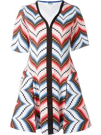 dress mini dress mini chevron
