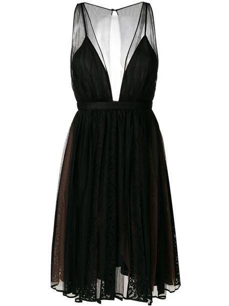 dress women lace black