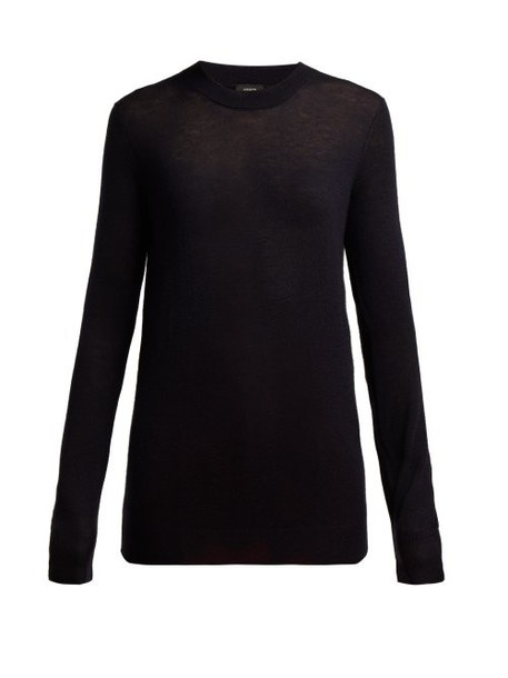 Joseph - Cashair Cashmere Sweater - Womens - Navy