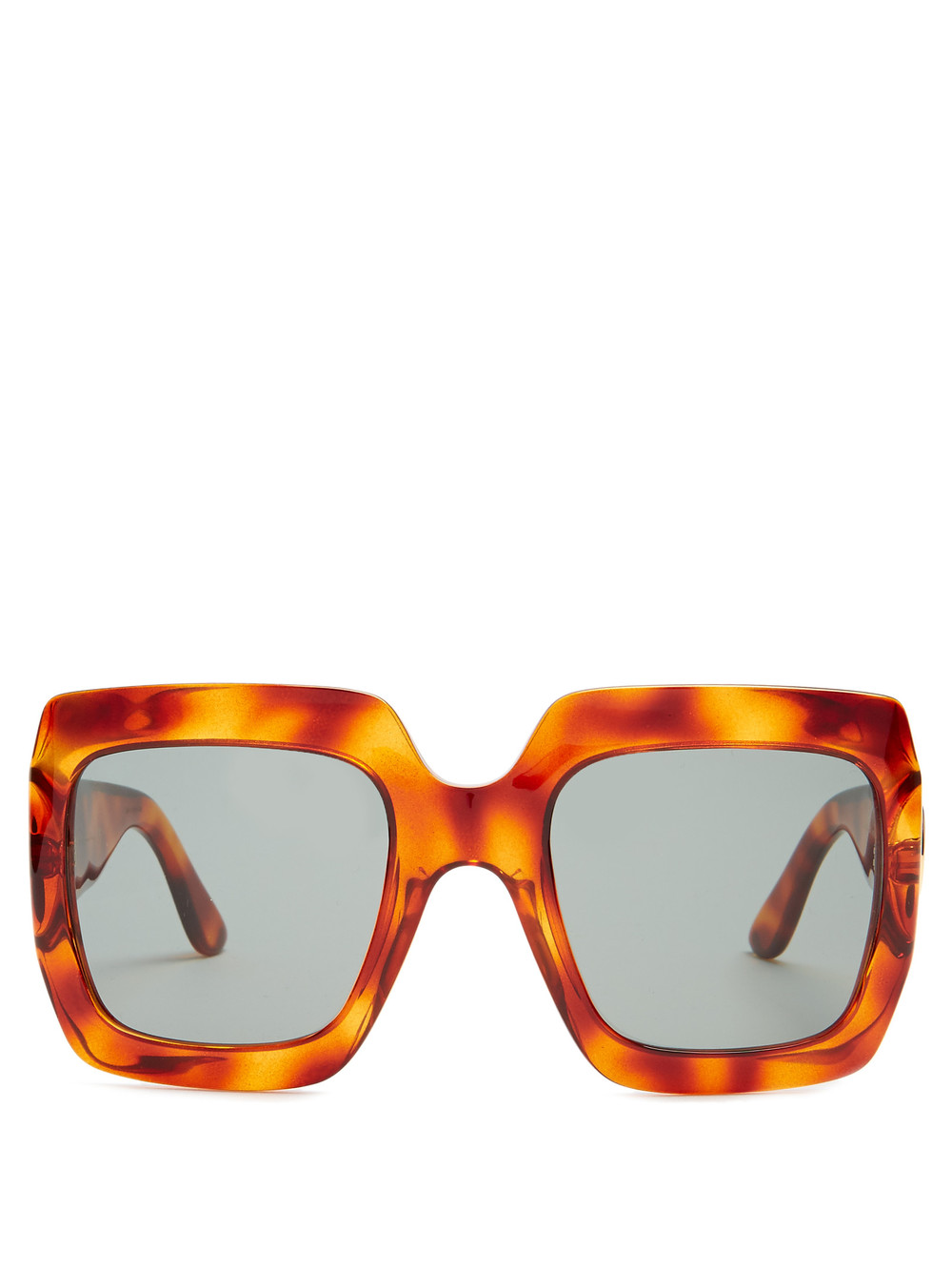 HBK Luxury Italian Brand Oversized Sun Glass Square