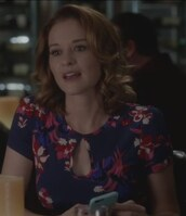 dress,floral,grey's anatomy,april kepner